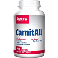 Jarrow Formulas CarnitAll, Supports Brain, Memory, Cardiovascular Health, 90