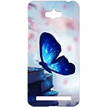 100 Degree Celsius Printed Back Cover for Asus Zenfone Max (Multicolour, MCNO40459)