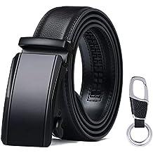 flintronic ® Cinturón Cuero Hombre 8a08f9591b79
