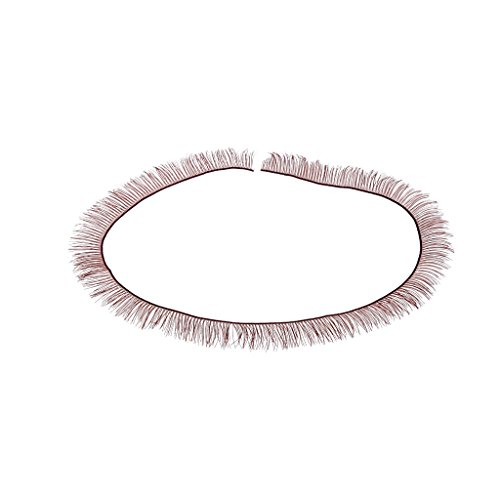 D Puppen Big Hübsches Augen-Make Up Wimpern Dunkelbraun ()