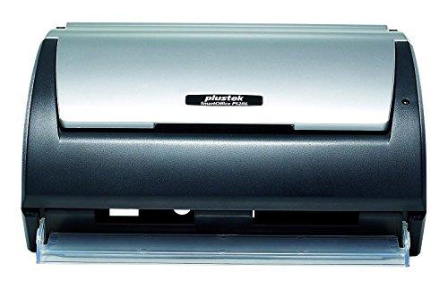 Plustek Escáner de alimentación de hojas SmartOffice PS286 Plus USB, negro