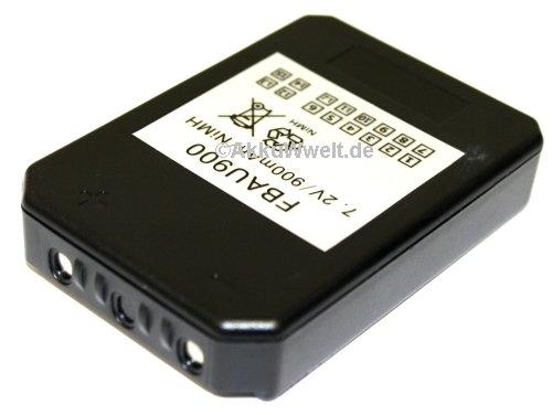 Batterie de rechange pour aUTEC modular mJ plus radio mK mK mBM06MH 7,2 v/900 mAh