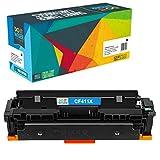 Do it Wiser Kompatibel XXL Toner CF411X CF411A für HP 410X Color Laserjet Pro MFP M477fdw M477fdn M477fnw M452dn M452dw M452fdn M377dw - Cyan (5000 Seiten)