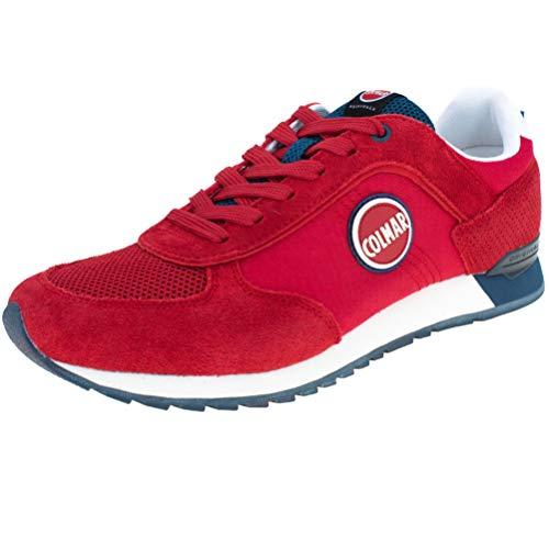 COLMAR TRACOL rote Blaue rote Blaue Schuhe Turnschuhe Mann Schnürsenkel 40