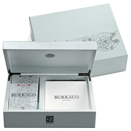 Juego Cofanetto Carte Burraco, Colore Albus, JU00083