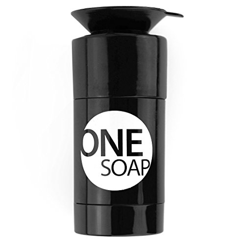 OneSoap - Travel-Size Duschseife / festes Shampoo / Rasierstick natürlich + vegan. Reiseset-Artikel für Surfer, Outdoor/Camping, Sportler...