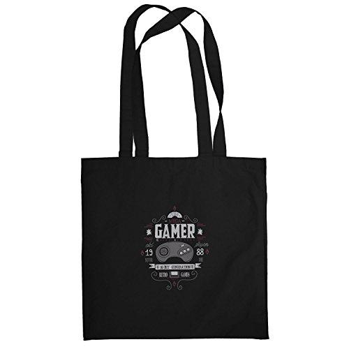 TEXLAB The Mega Gamer - Stoffbeutel, schwarz Wonderboy-shirts