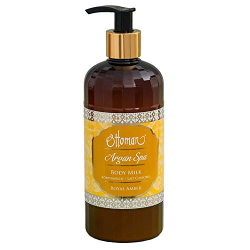 Ottoman Argan Spa Körpermilch, Royal Amber, 1er Pack (1 x 400 ml)