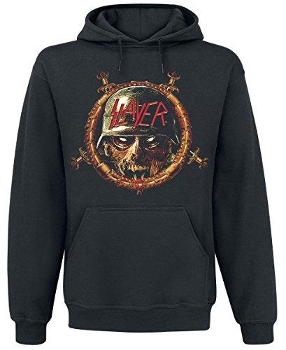 Slayer Comic Book Cover Hooded Sweatshirt Black L