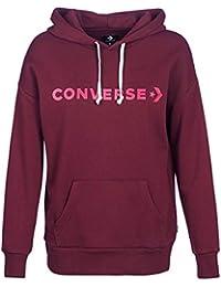 baaed3142fbc Converse Women s Star Chevron Oversized Hoodie Storm Pink - Various Sizes