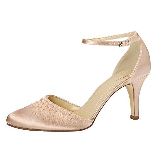 Elsa Coloured Shoes , Bride cheville femme - Ivory