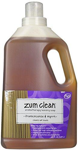 Zum Clean Laundry Soap Frankincense & Myrrh-64 oz.