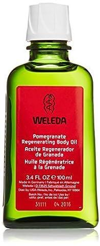 Weleda Organic Pomegranate Regenerating Body Oil 100ml by Weleda Uk Ltd