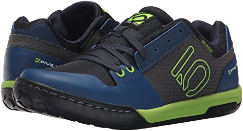 Five Ten MTB-Schuhe Freerider Contact Solar Green/Night Shade Blau