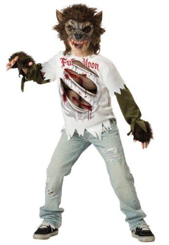 Generique - Werwolf Kostüm für Kinder 140/146 (10-12 ()
