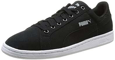 Puma Smash, Baskets mode homme - Noir (Black/Black), 45 EU