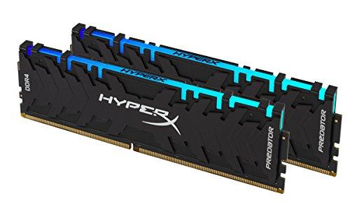 HyperX Predator HX432C16PB3AK2/16 - Kit de Memoria RAM (DDR4 16GB, 2x 8GB, 3200MHz CL16 DIMM XMP RGB)