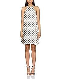 VERO MODA Damen Kleid Vmsally Ann S/L Short Dress Lcs