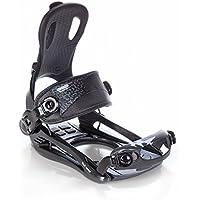 Snowboard Bindings SP Rage Fastec FT270 Black L