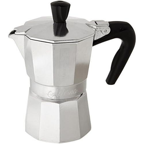 "41rpC06L1oL. SS500  - Bialetti"" Aeterna Espresso Maker for 2 Cups, Aluminium, Silver, 30 x 20 x 15 cm"