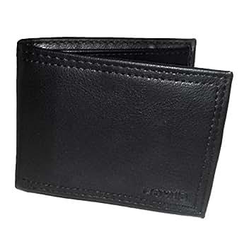 Levis - Portefeuille homme cuir noir en coffret - modele 31LP2206
