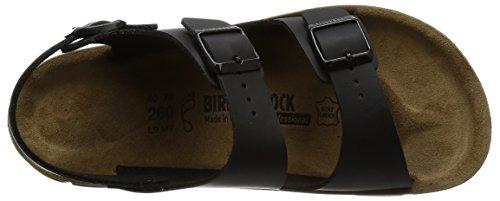 Birkenstock Kano, Sandali con Cinturino Alla Caviglia Unisex – Adulto nero (nero)