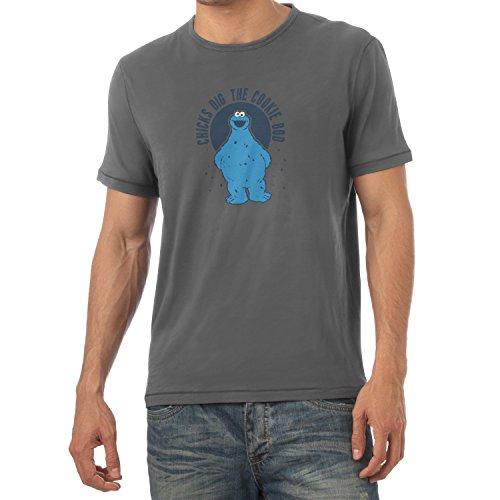 Kinder Speck Kostüme (TEXLAB - Chicks dig the Cookie Bod - Herren T-Shirt, Größe XXL,)