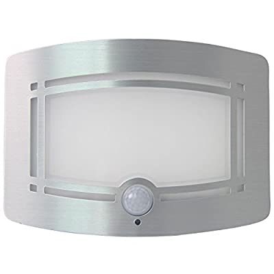Signstek 10LED Wireless Wall Light Sconce Motion Sensor Hallway Staircase Wardrobe Cabinet Lamp - cheap UK light store.
