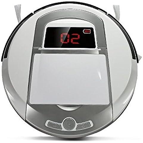 FD-2RSW(A) Aspiradora inteligente, Robot aspiradora para pisos, Robot barredor inalámbrico con ponderosa aspiradora casera robótica.