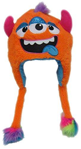 Halloween Mützen (Monster Mütze Plüsch Kinder Erwachsene Karneval Halloween Wintermütze Jungen Mädchen Kindermütze)
