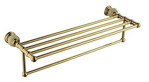 CXHMY Voller Kupfer Handtuchhalter Anhänger aus Gold Jade Anhänger, B -