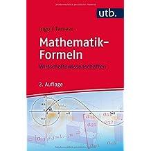 Mathematik-Formeln: Wirtschaftswissenschaften