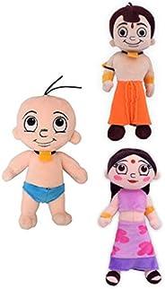 Chhota Bheem Raju Plush Toy, Multi Color (22cm)|Plush Toy, Orange (22 cm)|Plush Toy, Orange (22 cm)