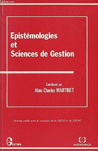 Epistémologies et sciences de gestion