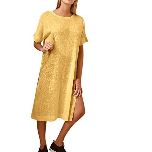 Striped Bodycon Mini (Hahuha , Frau Kleid. Frauen Sexy Sleeveless Color Patchwork Striped Party Club Bodycon Mini Dress)