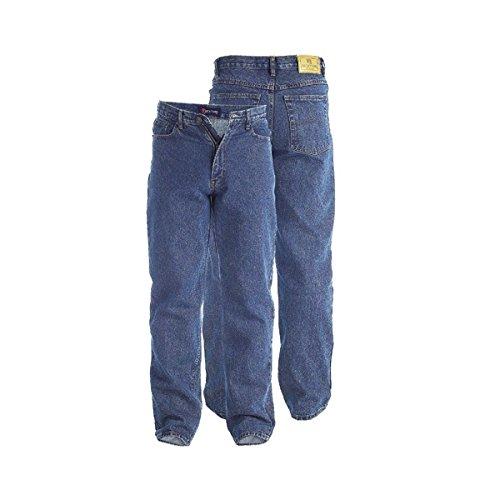 Duke Rockford RJ510comodo da uomo stonewash jeans Stonewashed 50 (Heavyweight Jeans)