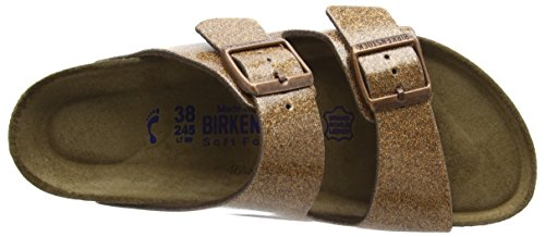 Birkenstock Damen Arizona Sandalen Mehrfarbig (Magic Galaxy Bronze)