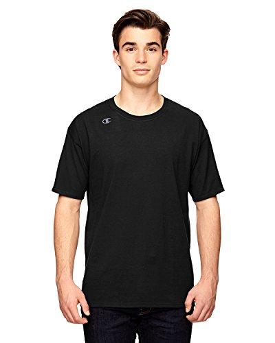 Champion für Team 365Vapor® Baumwolle Kurzarm T-Shirt Schwarz - Schwarz