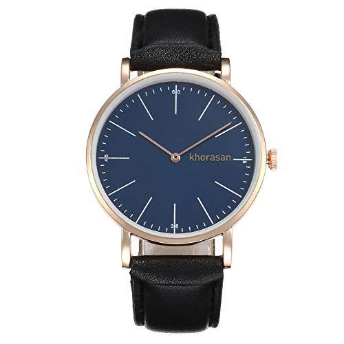 Uhren Damen Armbanduhr Frauen Lässig Dame Kunstleder Quarz-analoge Armbanduhr Exquisit Uhr Wrist Watch Uhrenarmband Freizeit Uhr ABsoar