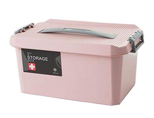 Portable Handheld Familie Medizin Kabinett Erste Hilfe Kit Pink