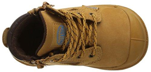 PalladiumHi Cuff Wp Bb - Sneaker unisex bambino Giallo (Jaune (832/Amber Gold/Chocolate))