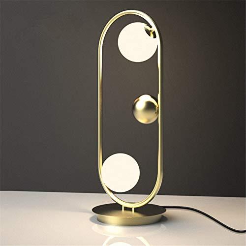 ... Kugel LED Goldener Ovaler Form Saturn Ring Entwurfs Moderner Einfacher  Art Studie Büro Beleuchtung Wohnzimmer Schlafzimmer  Augenpflege Nachttischlampe