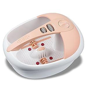 Hangsun Fußbad FM200, Fußbadewanne mit Infrarot-Wärme und Magnetfeldtherapie für Die Fußpflege