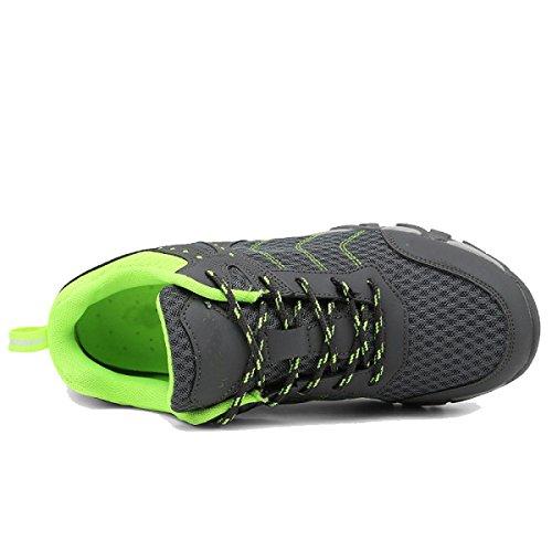 Les Amateurs De Plein Air Chaussures De Randonnée Hommes Glissent Des Chaussures De Randonnée Multicolore Multi-taille Gray