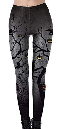 Wenyujh' Damen Leggings Hosen Kostüme Halloween Strech Hohe Taille Party Modern Sexy ()