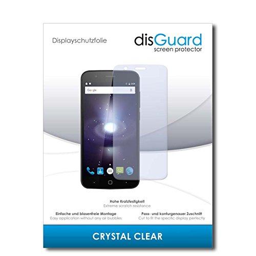 disGuard® Bildschirmschutzfolie [Crystal Clear] kompatibel mit Vernee Thor [4 Stück] Kristallklar, Transparent, Unsichtbar, Extrem Kratzfest, Anti-Fingerabdruck - Panzerglas Folie, Schutzfolie