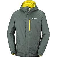 Columbia Wasserdichte Regenjacke für Herren, Pouring Adventure II Jacket, Nylon