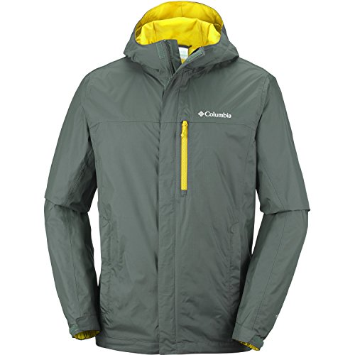 Columbia Pouring Adventure II Jacket Small Antique Moss Gravel