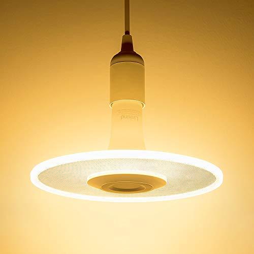 Sternwolk LED Pendel Leuchte, Linkind 11W Lampebirne(Kabel-Fassung nicht inkl.) 1100lm warmweiß Hängende Beleuchtung, Geeignet für E27 Fassung, ideal Designerlampe für Küche