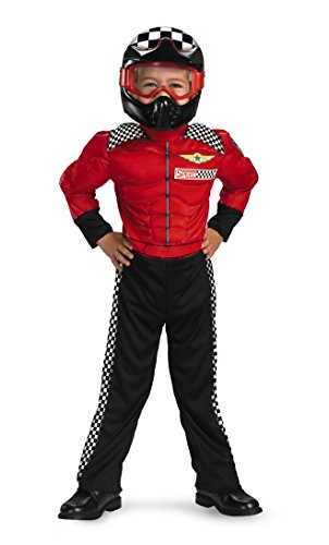 Turbo Racer Fancy dress costume Toddler - Red Racer Kostüm